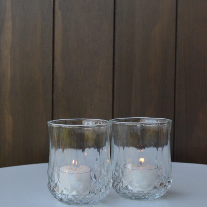 Cut Glass Tumbler Tealight