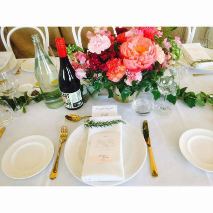 Gold Flatware Hire Adelaide