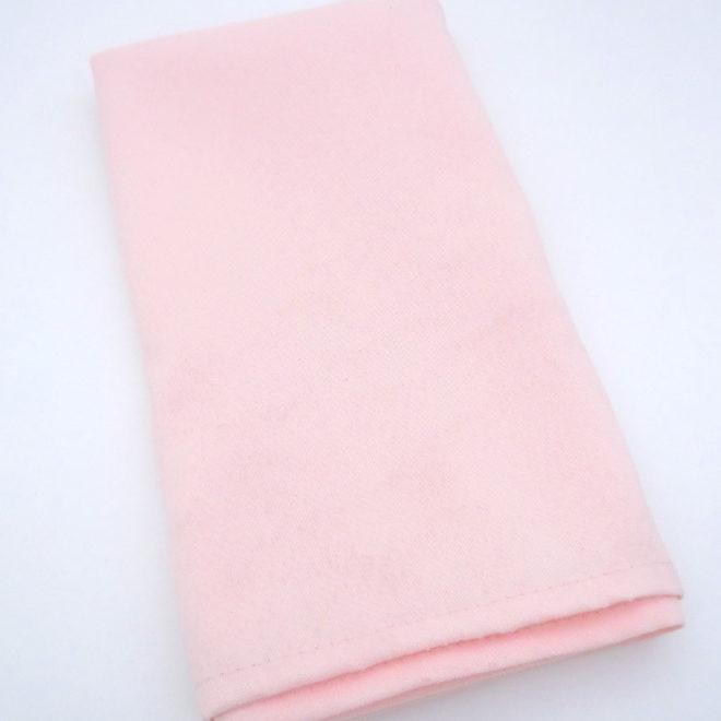 peach napkin