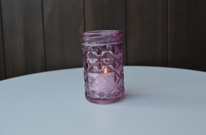 Purple Cut Glass