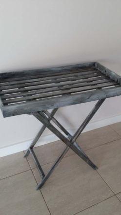 Vintage Wood Butlers Table