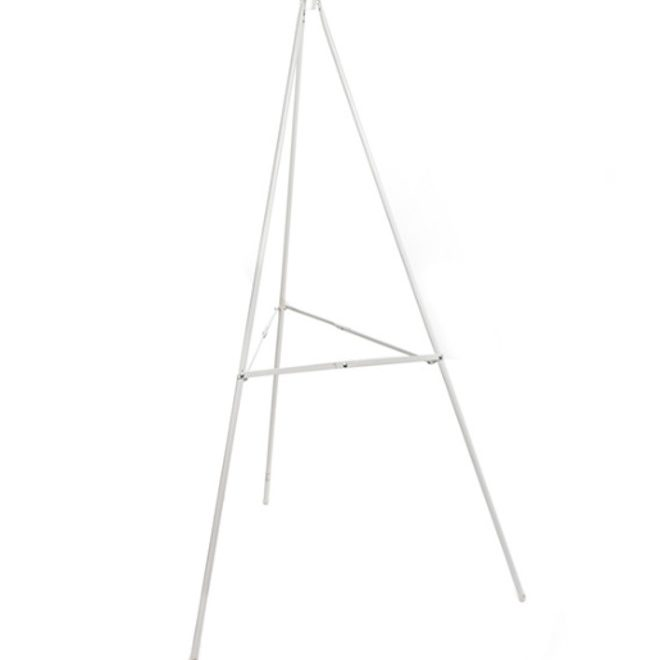 White Easel Simple