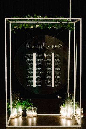 Seating Chart Frame