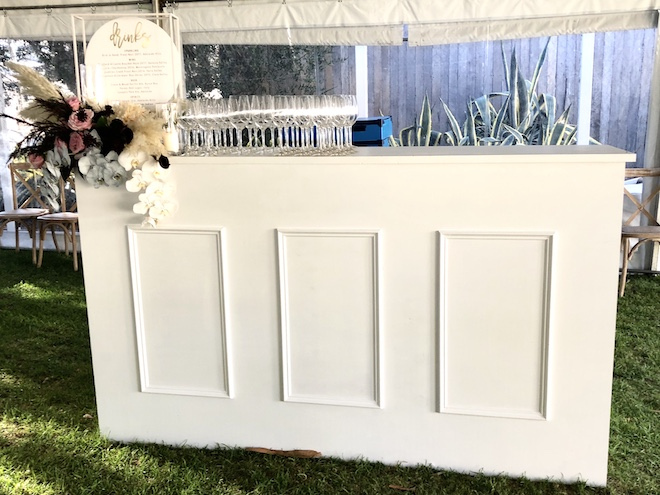 Hamptons Bar Cart