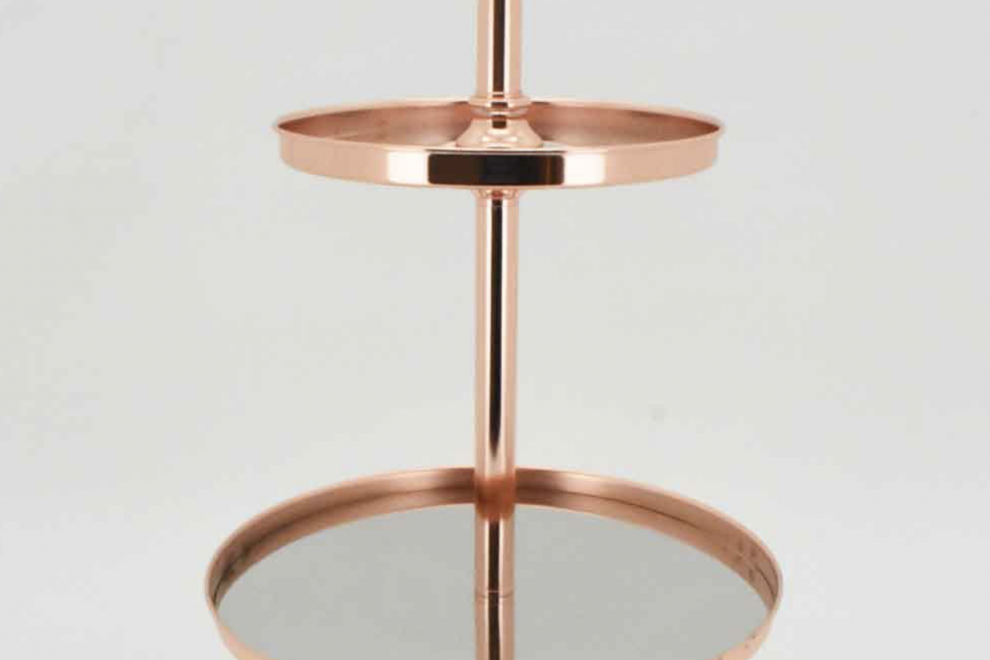 Rose Gold 2 Tier
